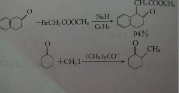 碳原子上的烃基化反应配图
